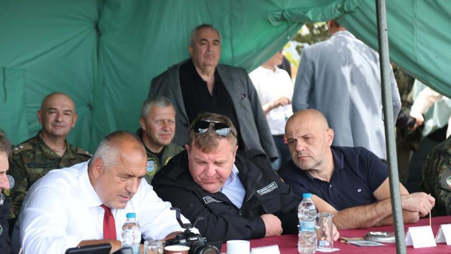 Борисов: Казвам голямо браво на нашите командири