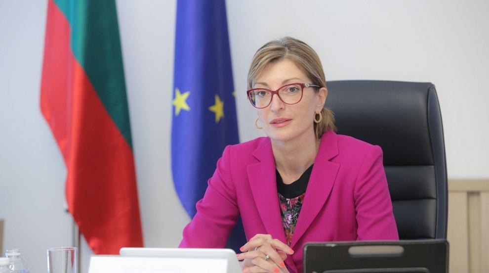 """Захариева ще участва в заседание на Съвета """"Външни..."""