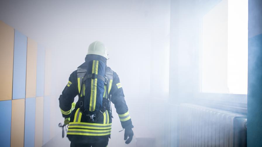 Ученик подпали училището си, не му се ходело на занятия