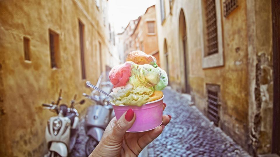 лято сладолед