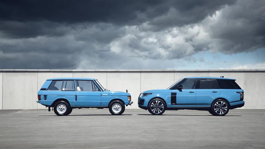 <p>Range Rover празнува 50-годишен юбилей</p>