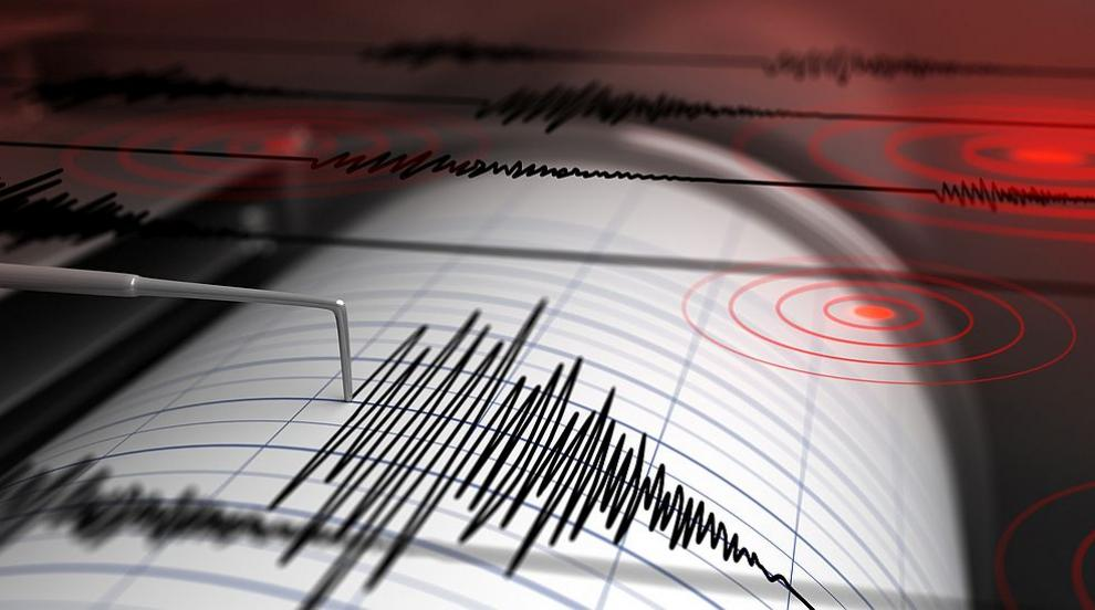 Земетресение разлюля Атон