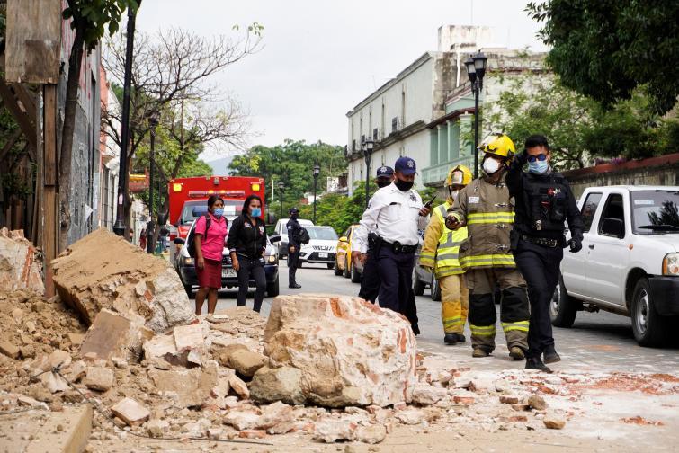 мексико земетресение