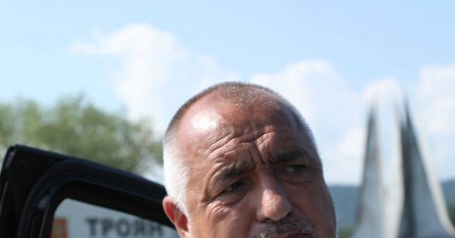 България Премиерът инспектира Околовръстното шосе на Велинград Бойко Борисов инспектира