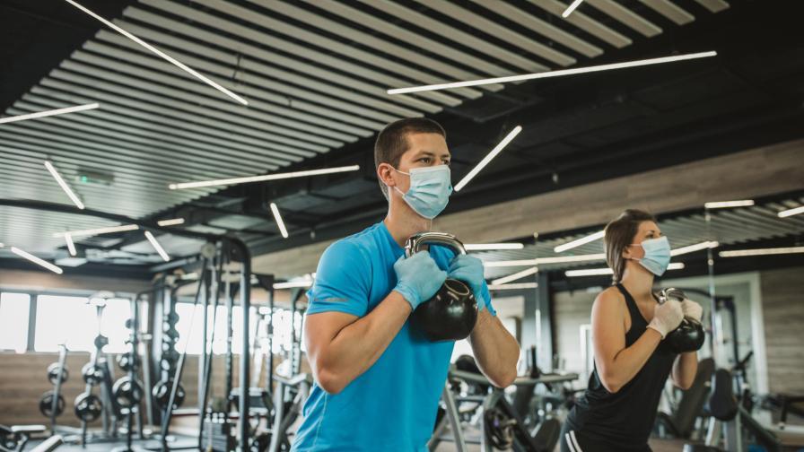 Без маски за спортуващите на закрито