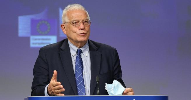 Ръководителят на външната политика на Европейския съюз Жозеп Борел заяви,