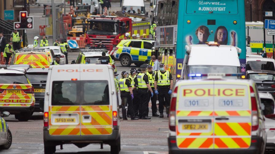 Атака с нож в Глазгоу, има ранени