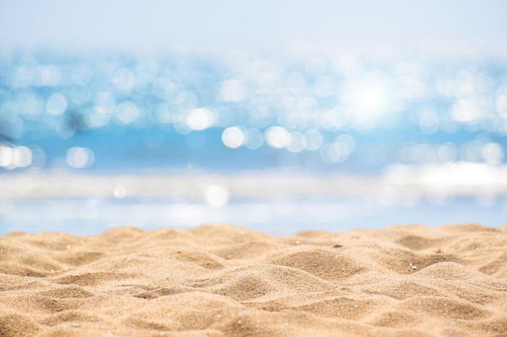 плаж пясък лято