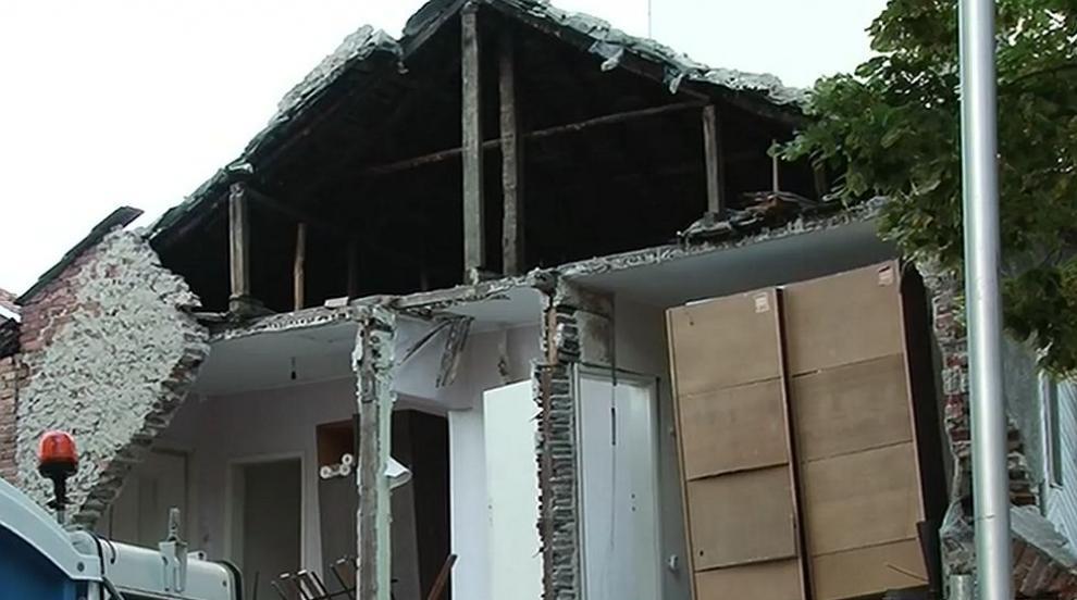 След като къща се срути в центъра на Пловдив – какво...