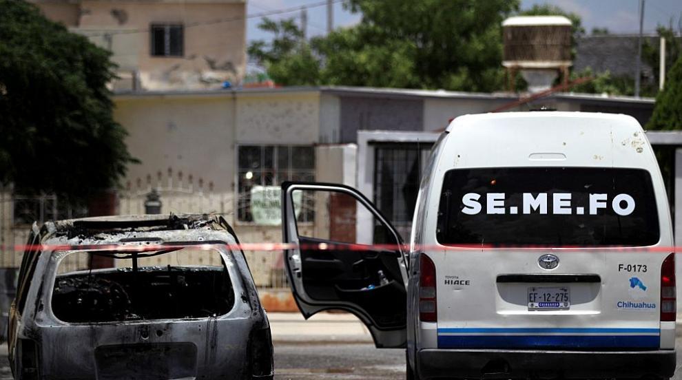 Дръзко нападение от картел в столицата на Мексико...