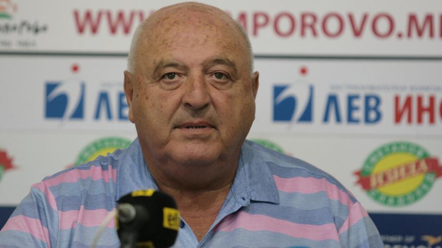 Венци Стефанов: Няма друг като Домусчиев, да даде толкова много пари за футбол