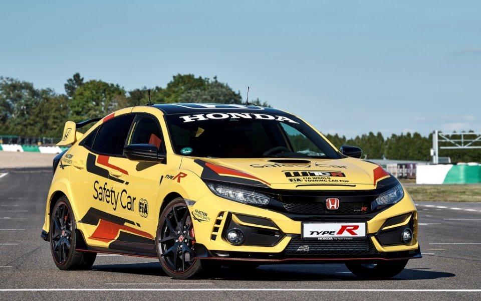 Honda Civic Type R Limited Edition е официалният автомобил за сигурност в WTCR 2020