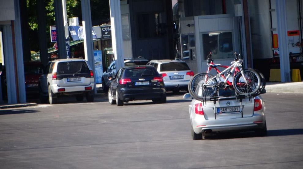 Отново опашка от автомобили на ГКПП...