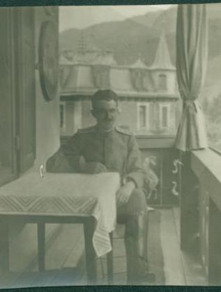 Инж. Иван Иванов. Мюнхен, Германия, 1918 г.