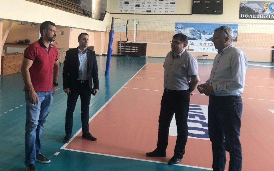 Ръководството на НВЛ проведе среща с кмета на Разлог Красимир Герчев