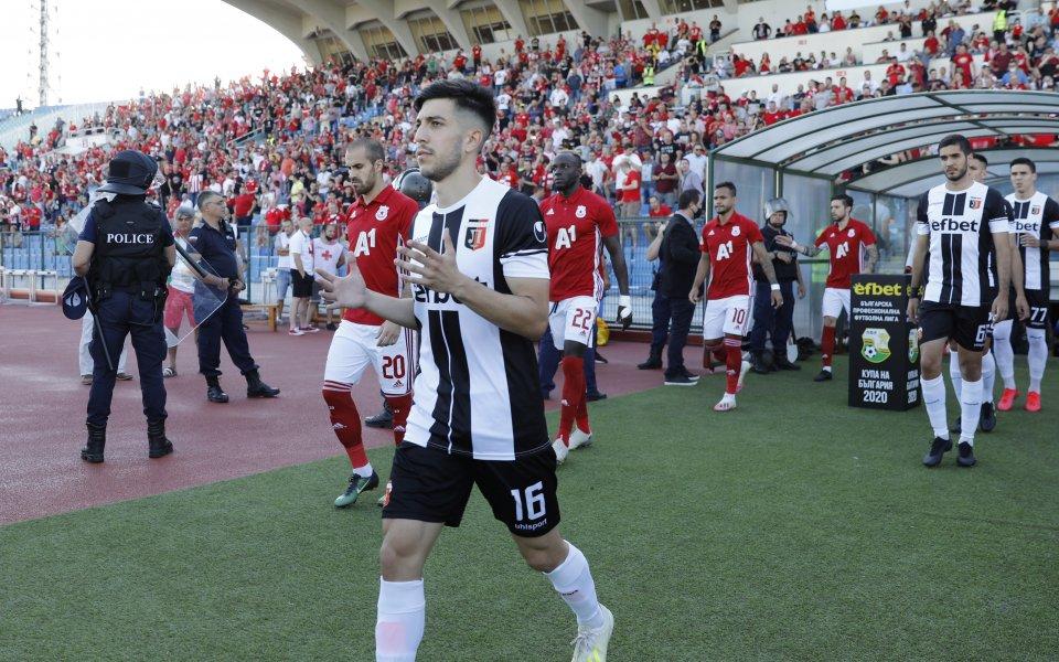 Един от героите за Локомотив Пловдив от финала за Купата