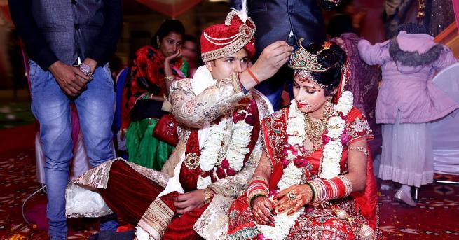 Младоженец в щата Раджастан в Индия се сблъска с неочаквани
