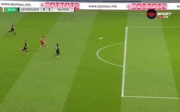 Невероятен гол на Левандовски