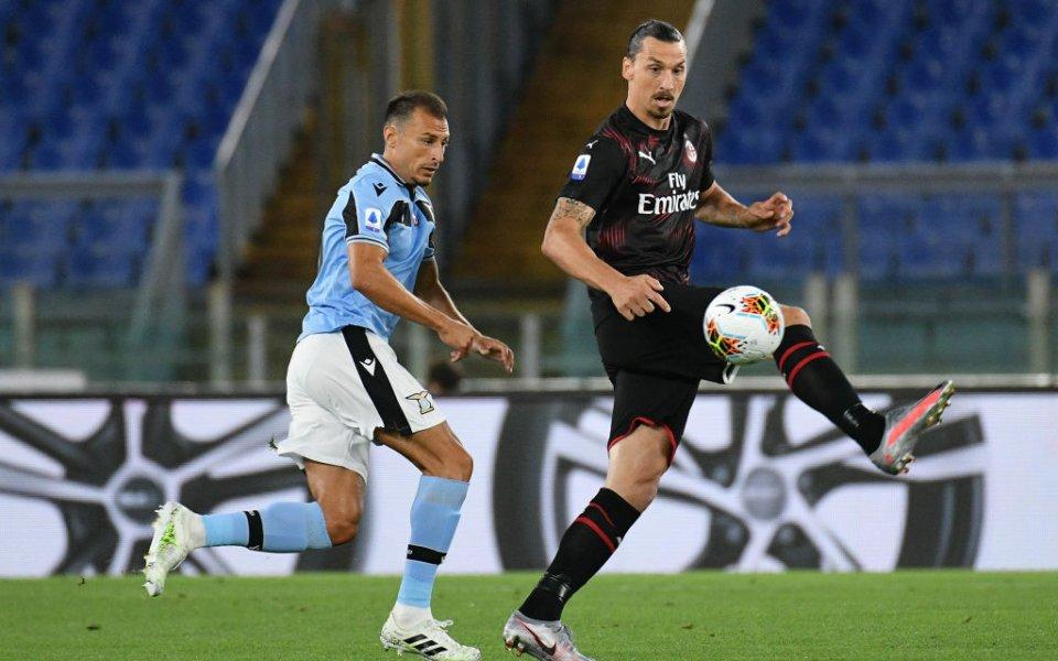 В двубой от 30-ия кръг на Серия А Милан се