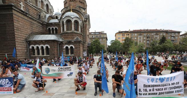 България Полицаи излязоха на протест навръх професионалния си празник Ако