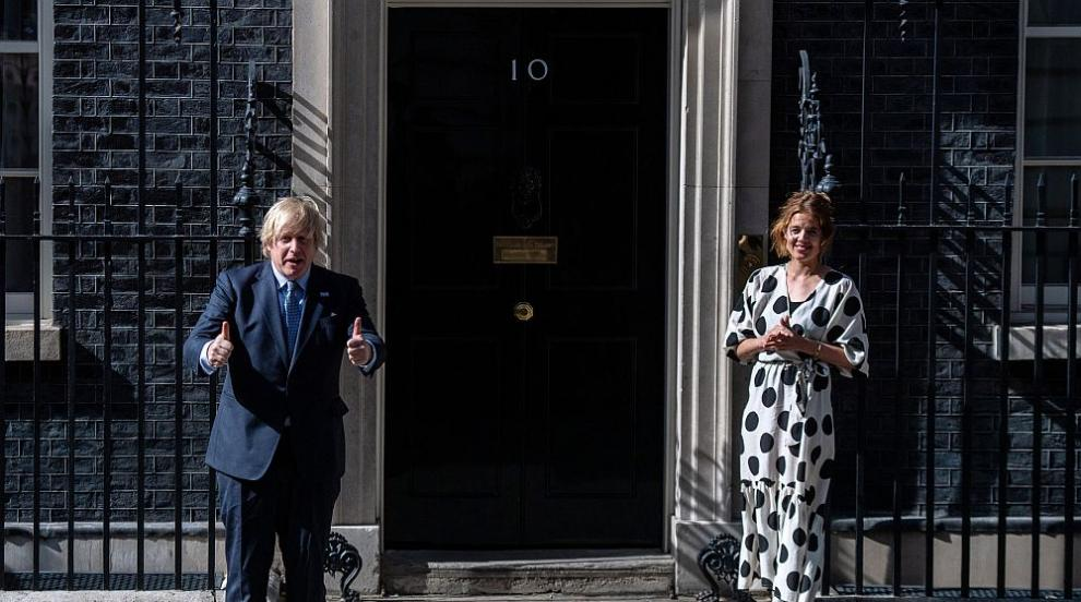 Борис Джонсън и принц Чарлз с поздрав към...