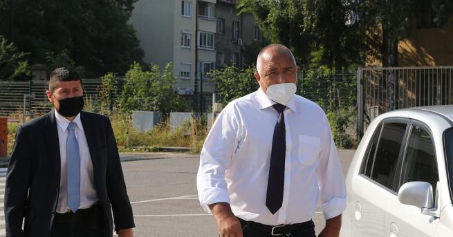 Премиерът Бойко Борисов пристигна в Специализираната прокуратура.Той е призован по