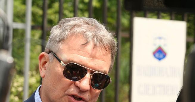 Бизнесменът и обвиняем по аферата за боклукла Пламен Бобоков беше