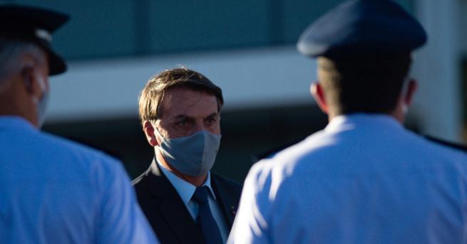Бразилският президент Жаир Болсонаро заяви, че тестът му за коронавирус
