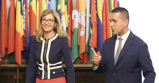 Вицепремиерът и министър на външните работи Екатерина Захариева и министърът
