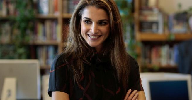 Кралица на Йордания Рания ал-Абдуласе отличава със стила си. Тя