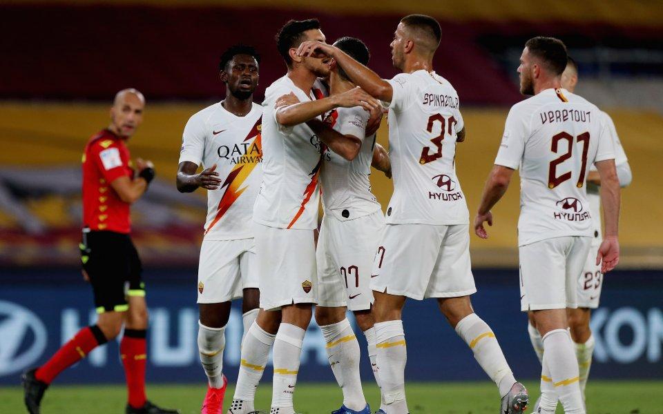 Рома успя да постигна обрат до 2:1 над Парма в