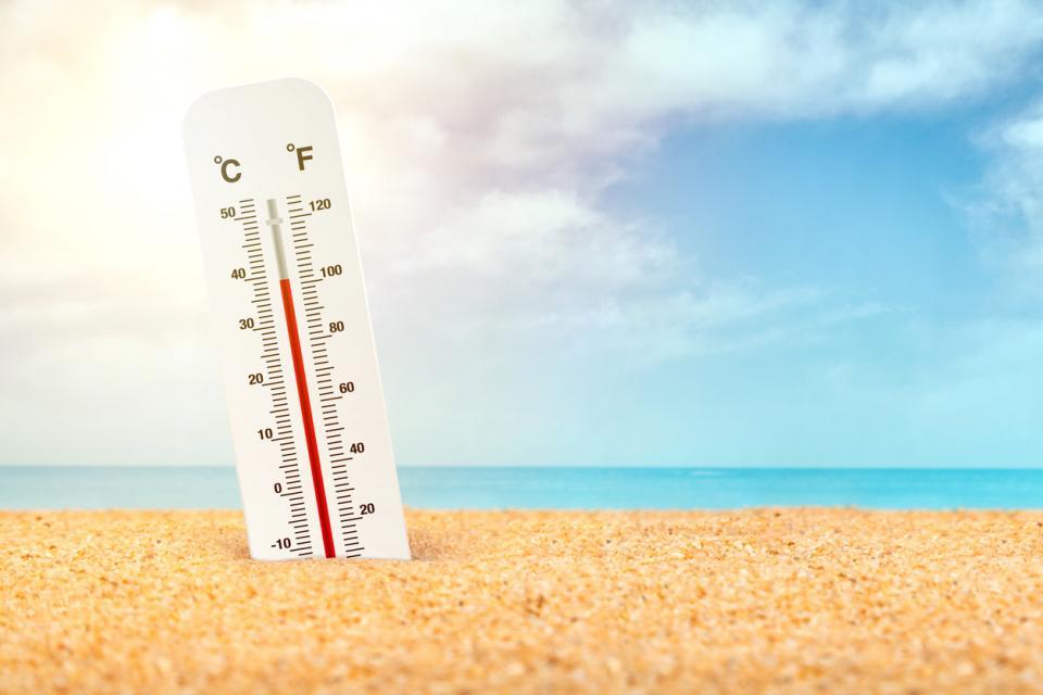 потене жега лято