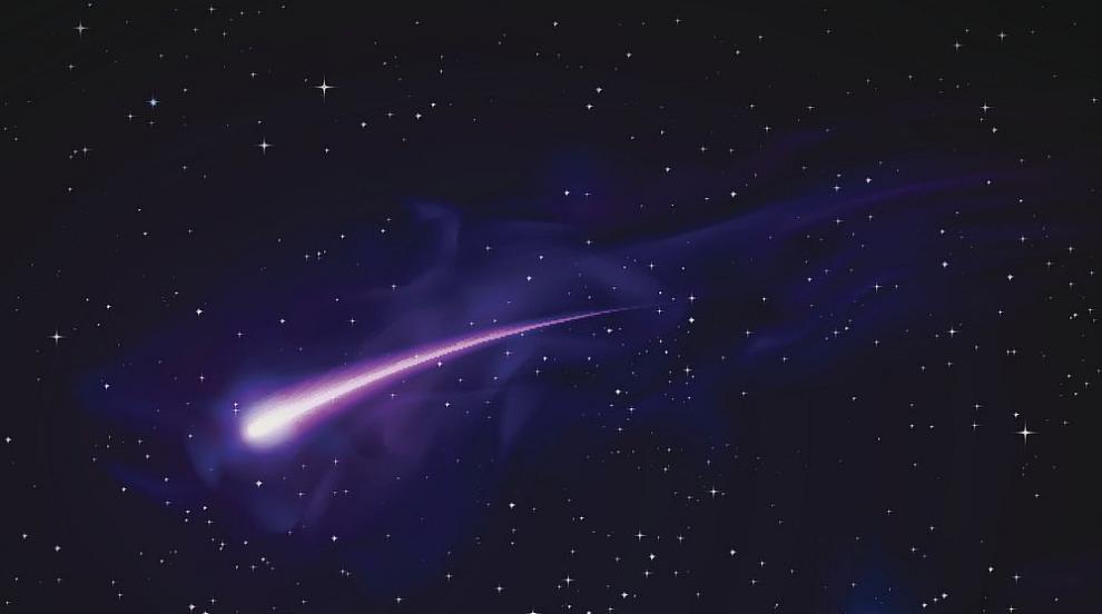 Най-ярката комета ще доближи Земята на 23 юли (СНИМКИ)