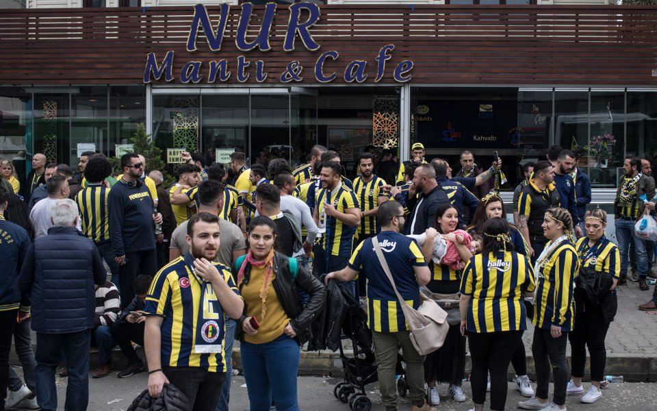Без публика в първенството на Турция