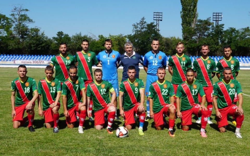 Отборът на Асоциацията на българските футболисти, съставен от свободни агенти,