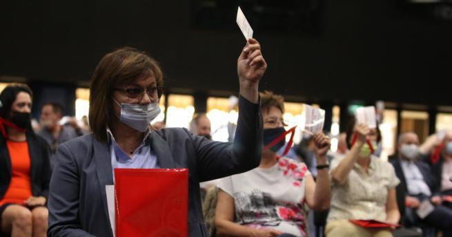 България Нинова: Това, което става навън, е вот на недоверие