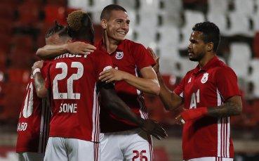 НА ЖИВО: ЦСКА - Берое, два бързи гола за домакините