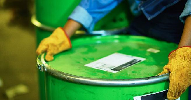 Центърът за разделно събиране и временно съхранение на опасни отпадъци