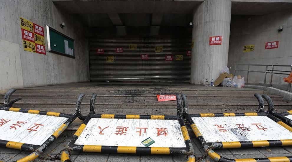 Бой в тайванския парламент - опозиция и управляващи...