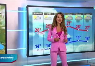 Прогноза за времето (14.07.2020 - обедна емисия)