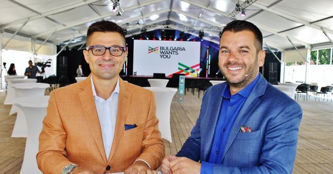 България Иван и Андрей представиха нова платформа за кариера и