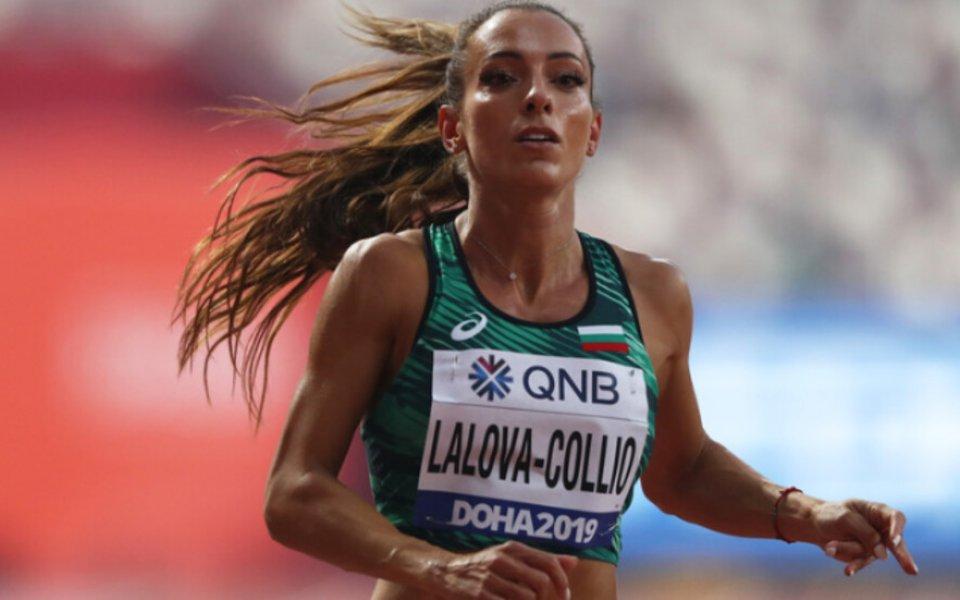 Най-добрата българска спринтьорка Ивет Лалова-Колио откри летния сезон с победа