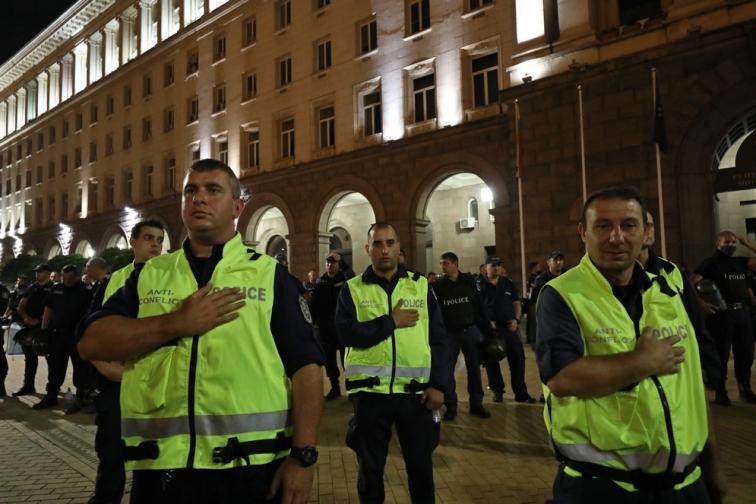 антиправителствени протести в София
