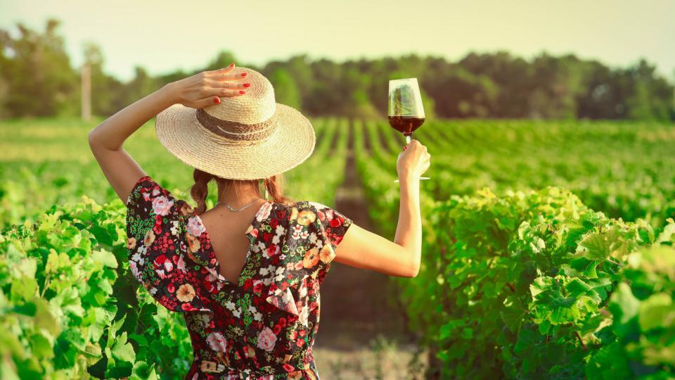 лято жена вино