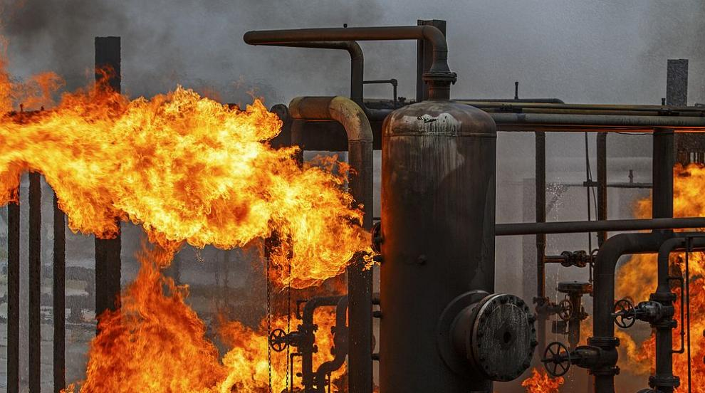 Взрив в иранска електроцентрала