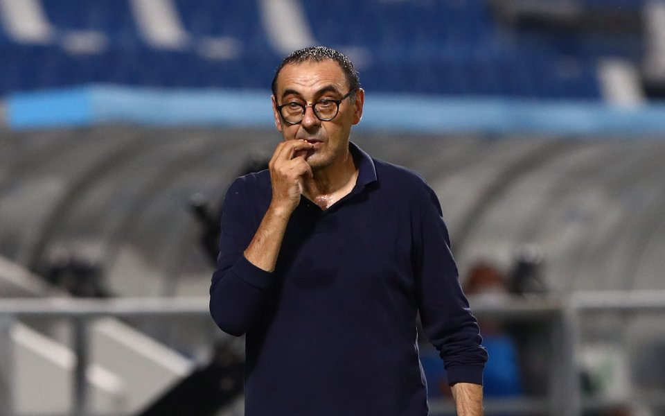 Треньорът на Ювентус - Маурицио Сари, вярва, че двубоят срещу