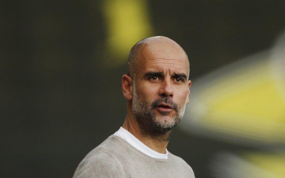 Треньорът на Манчестър Сити Пеп Гуардиола постави рекорд в английската