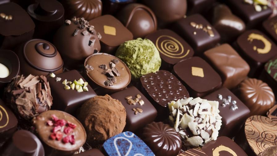 шоколад бонбони
