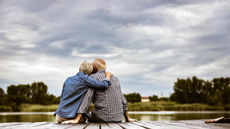 Баба и дядо станаха хит в Инстаграм с необичайни снимки