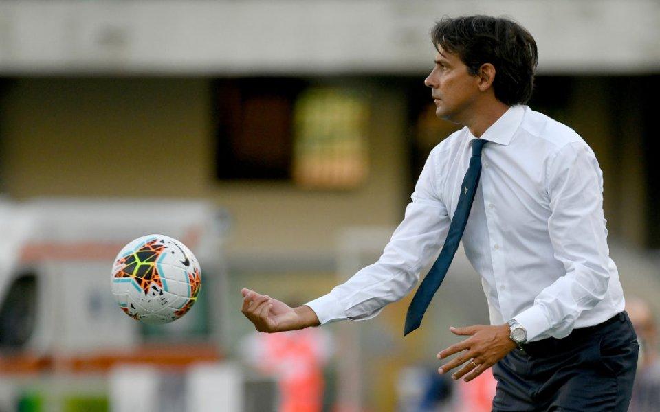 Треньорът на Лацио Симоне Индзаги бе доволен от разгромната победа